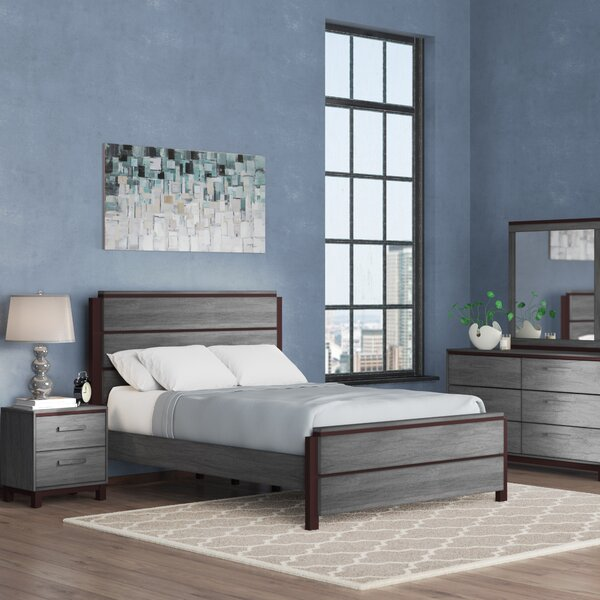 Hidalgo Standard 4 Piece Bedroom Set by Brayden Studio