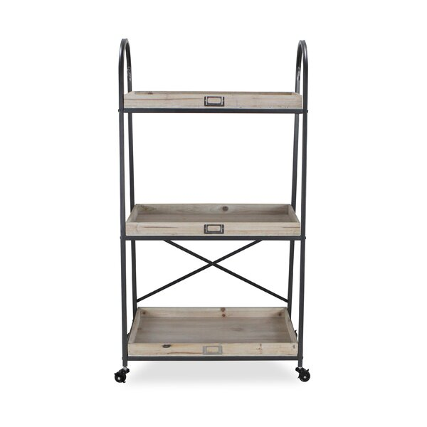 Holdsworth Three Tier Metal Bar Cart by Gracie Oaks Gracie Oaks
