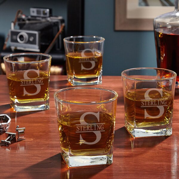 Oakmont Custom Rutherford 10 oz. Whiskey Glass (Set of 4) by Home Wet Bar