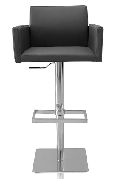 Tuller Adjustable Height Swivel Bar Stool by Wade Logan