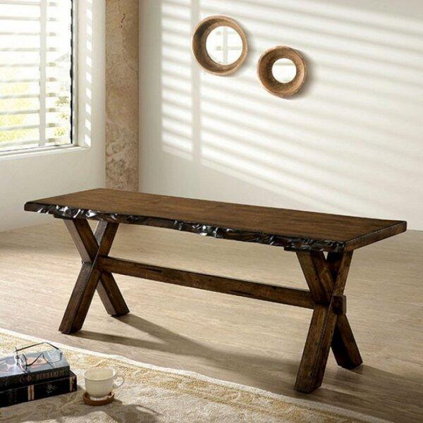 Pierre Wood Bench by Gracie Oaks Gracie Oaks