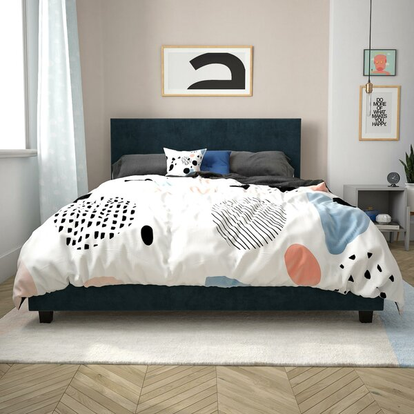 Cornell Upholstered Platform Bed by Trule Teen