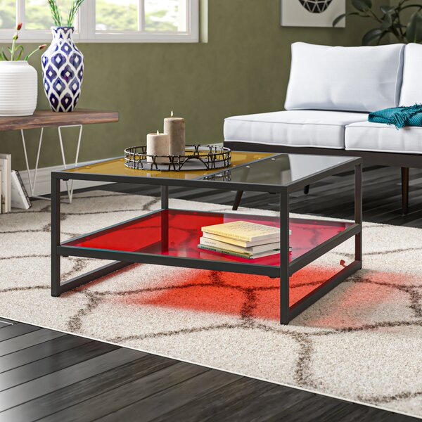 Leetsdale Sled Coffee Table With Storage By Latitude Run