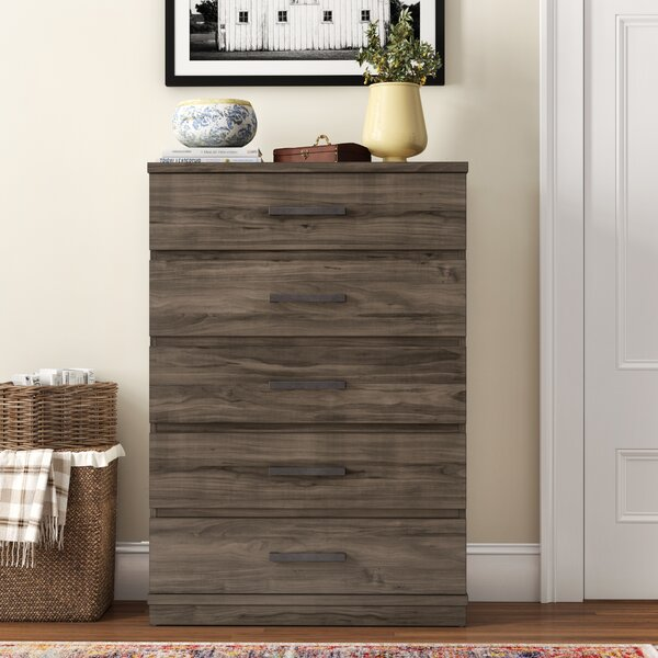 Kirkby 5 Drawer Chest by Three Posts Teen
