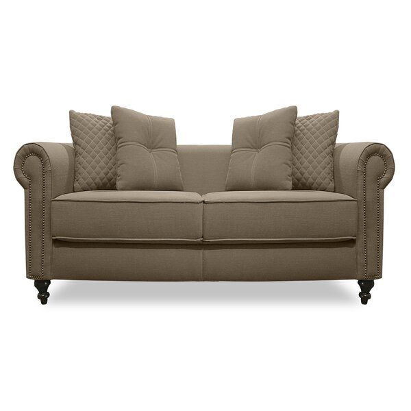 Gautier Lux Loveseat By South Cone Home