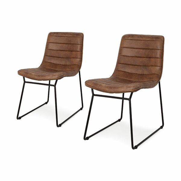 Maxton Upholstered Dining Chair (Set of 2) by 17 Stories