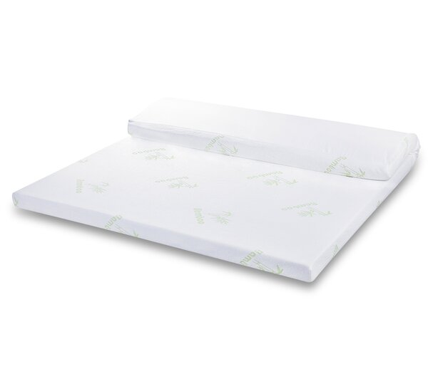 Jax Gel-infused 3 Memory Foam Mattress Topper by Alwyn Home
