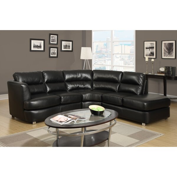 Symmetrical Sectional by Monarch Specialties Inc.
