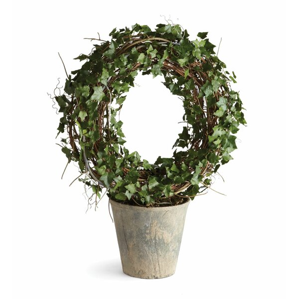 Concretelite Ivy Wreath by Napa Home and Garden