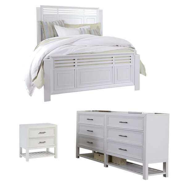 Elosie Panel Configurable Bedroom Set by Beachcrest Home