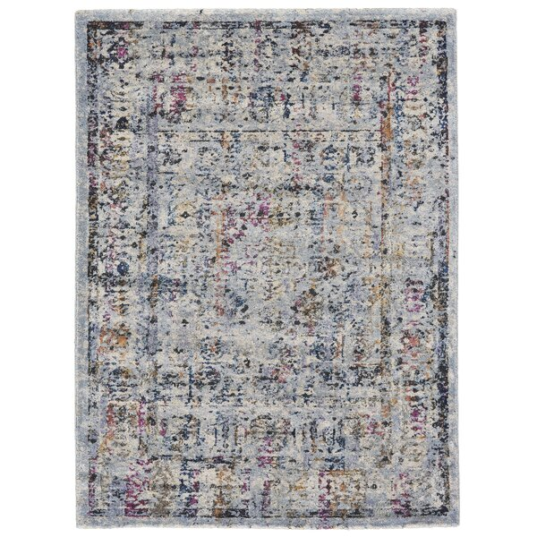 Abigail  Fog Pink/Purple Area Rug by Bungalow Rose
