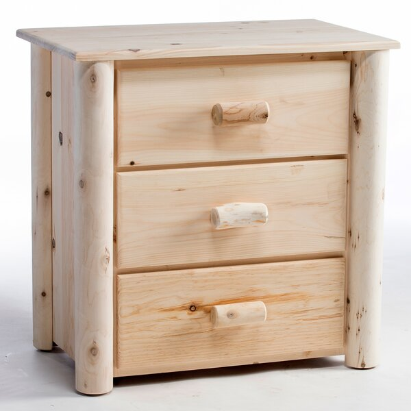Timothy 3 Drawer Bachelor's Chest by Millwood Pines Millwood Pines