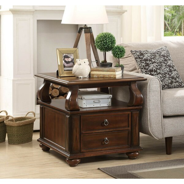 Sutphin Wooden End Table by Astoria Grand