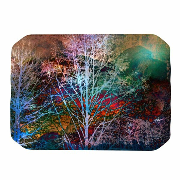 Trees in the Night Placemat by KESS InHouse