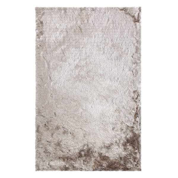 One-of-a-Kind Kailyn Hand-Knotted Taupe Area Rug by Union Rustic