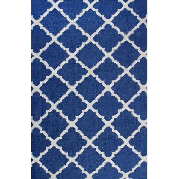Buster Blue Area Rug by Alcott Hill