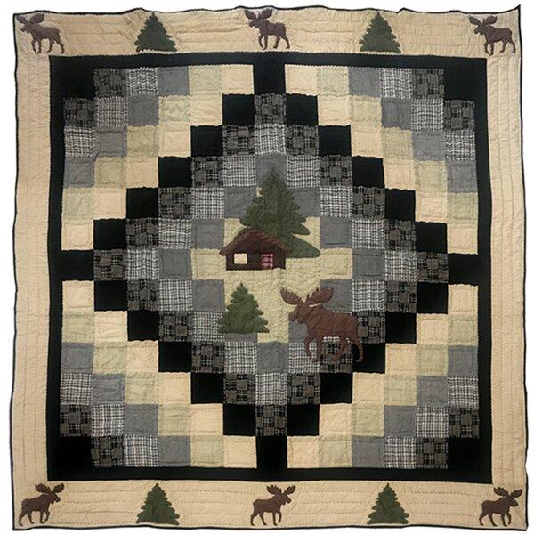 Merida Moose Cabin Quilt