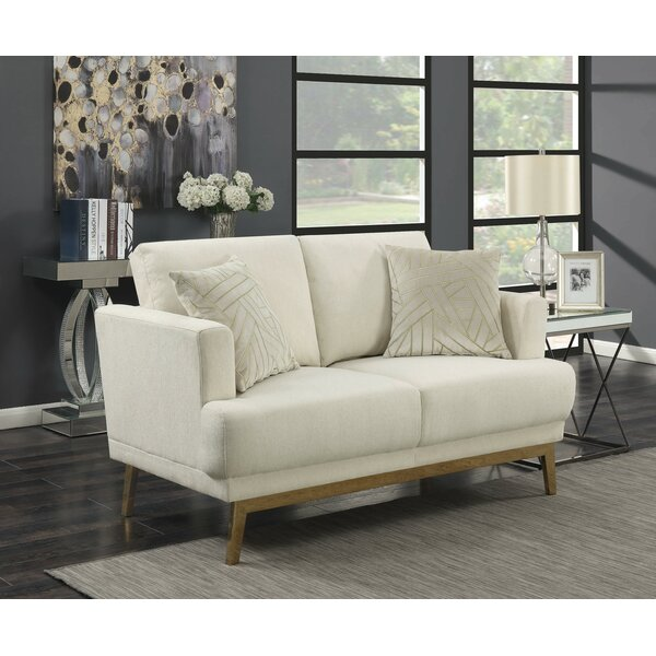 Best Discount Quality Tran Loveseat by Everly Quinn by Everly Quinn