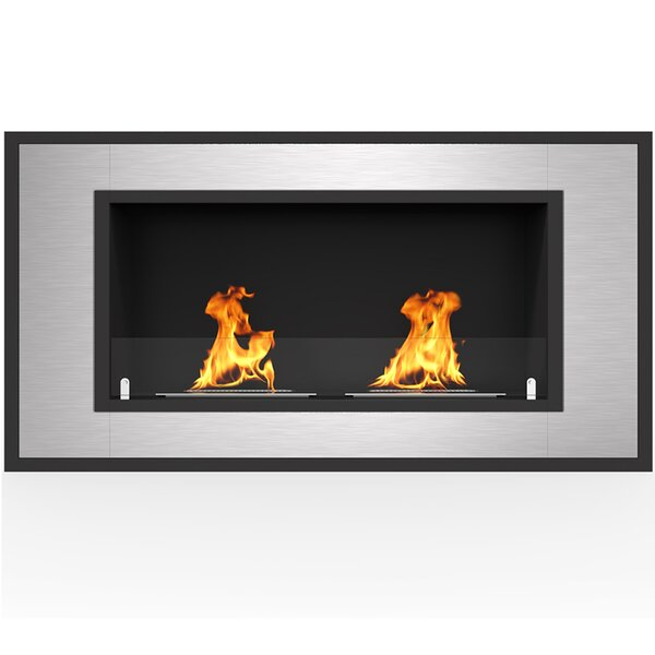 Maybelle Wall Mounted Bio-Ethanol Fireplace by Orren Ellis