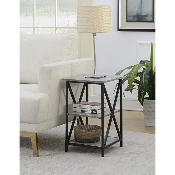 Creeksville End Table With Storage by Andover Mills
