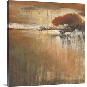 'Cambria Fields II' by Terri Burris Painting Print on Wrapped Canvas by Great Big Canvas