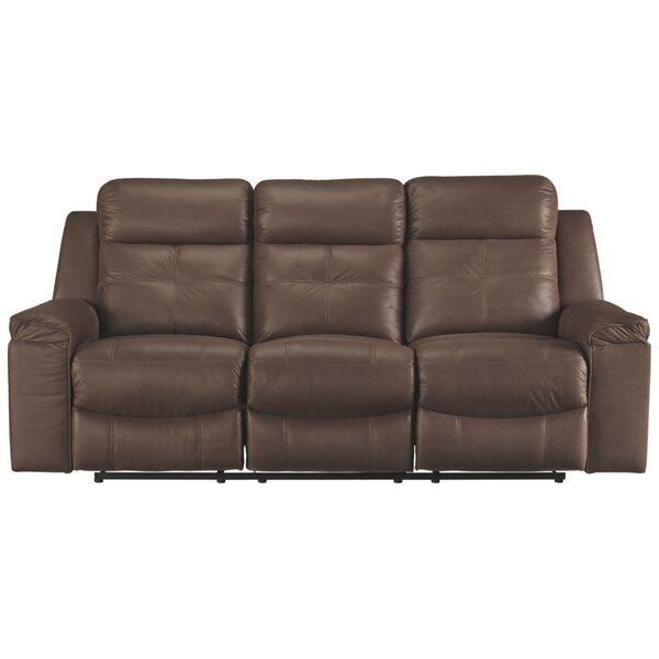 Modern Collection Pinnix Reclining Sofa by Red Barrel Studio by Red Barrel Studio