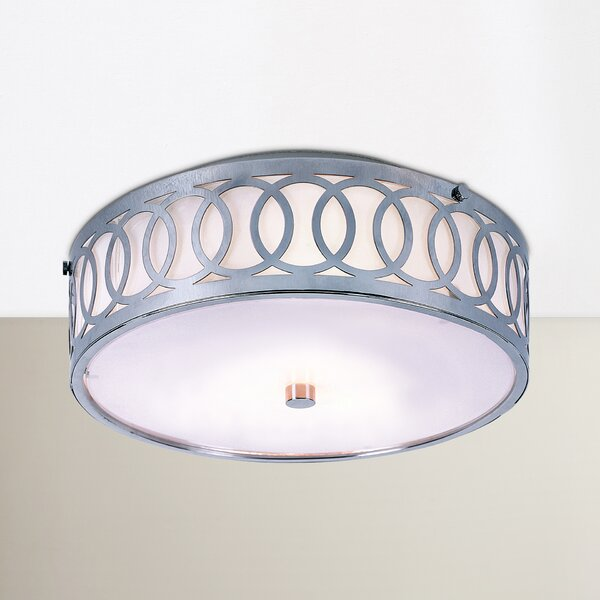 Koster Flush Mount by Mercury Row