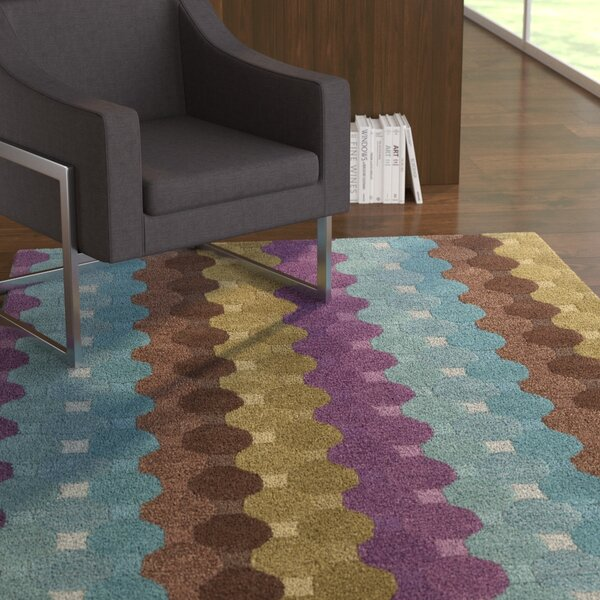Arae Geometric Area Rug by Latitude Run