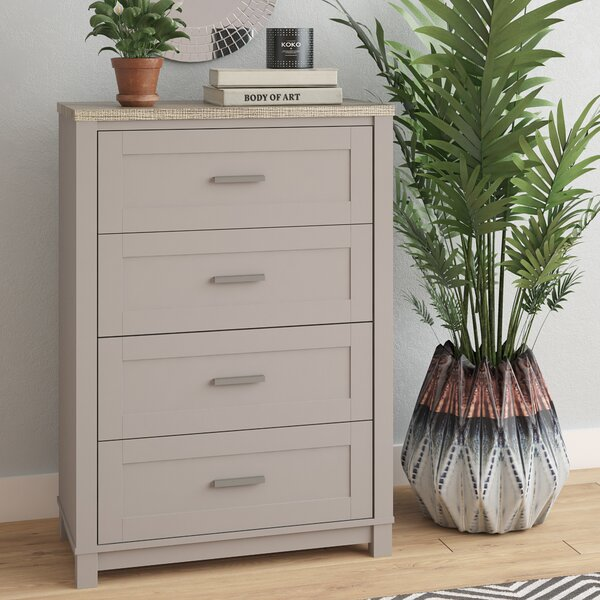Callowhill 4 Drawer Dresser by Mercury Row