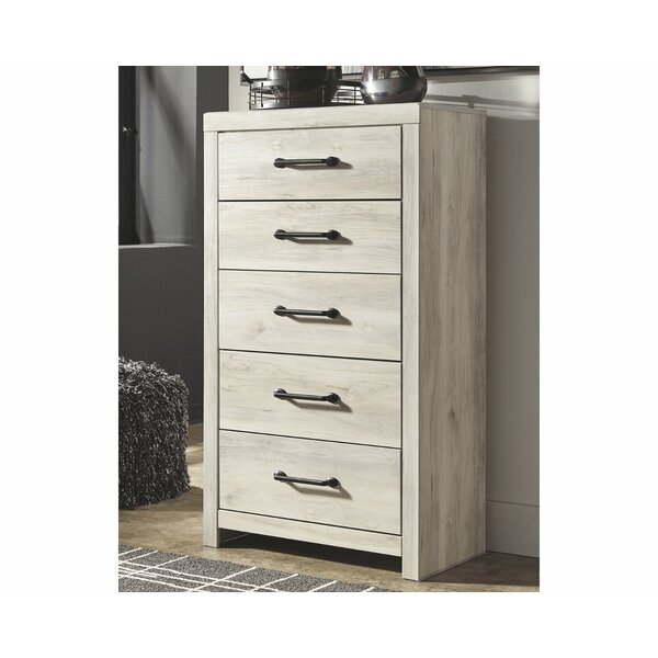 Bontang 5 Drawer Chest by Gracie Oaks