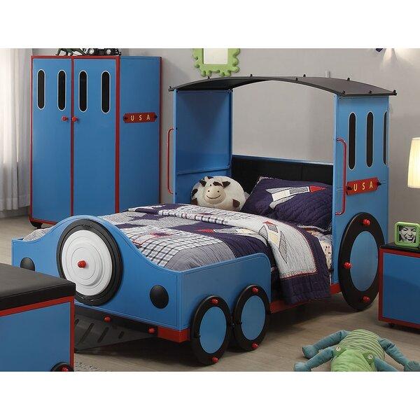 Nala Train Twin Car Bed by Zoomie Kids