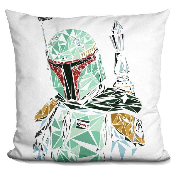 Boba Fett Throw Pillow by LiLiPi