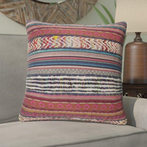 Cammi Cotton Throw Pillow by Mistana