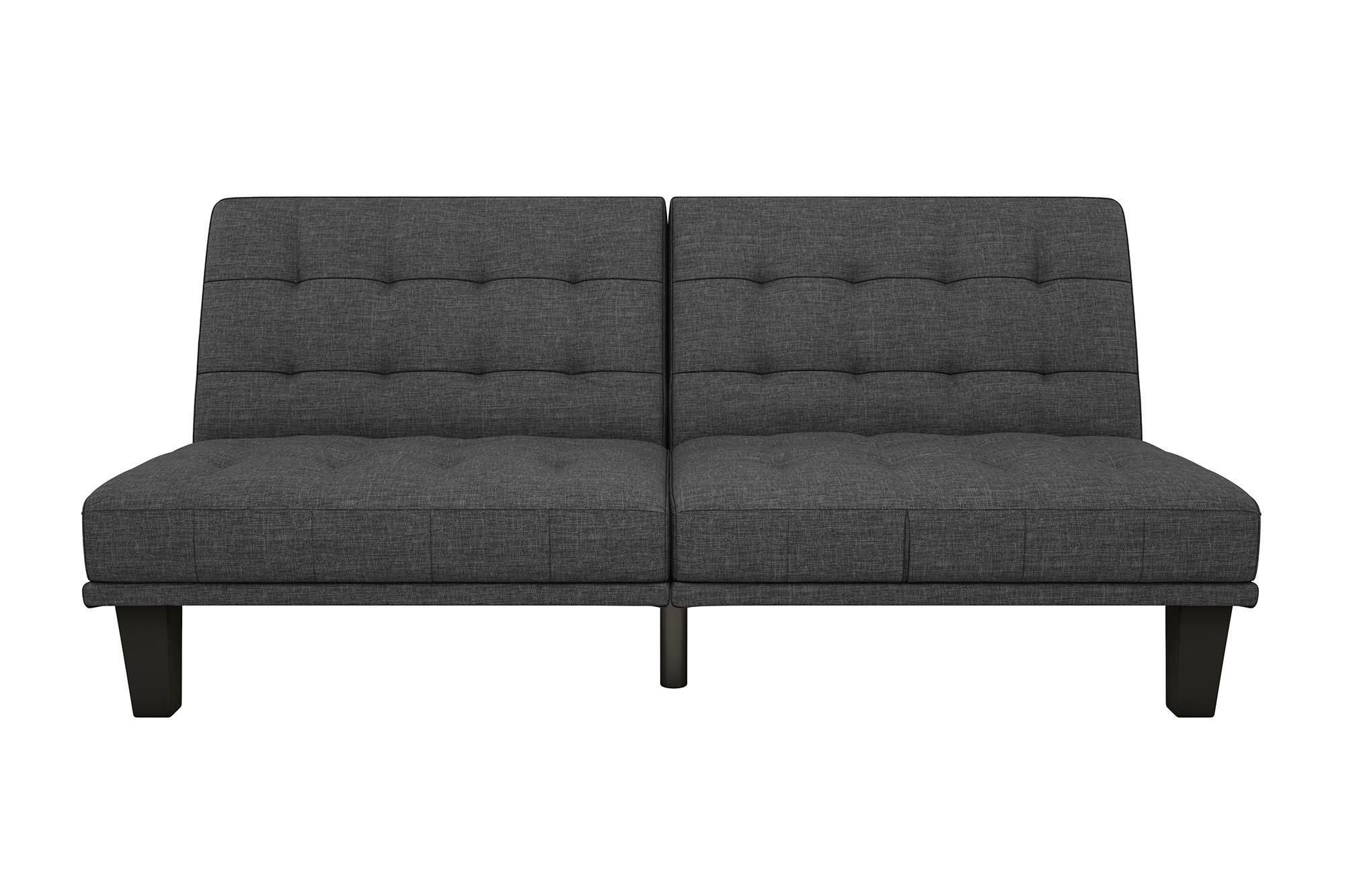 Wade Logan Haysi Futon Lounger Convertible Sofa Reviews