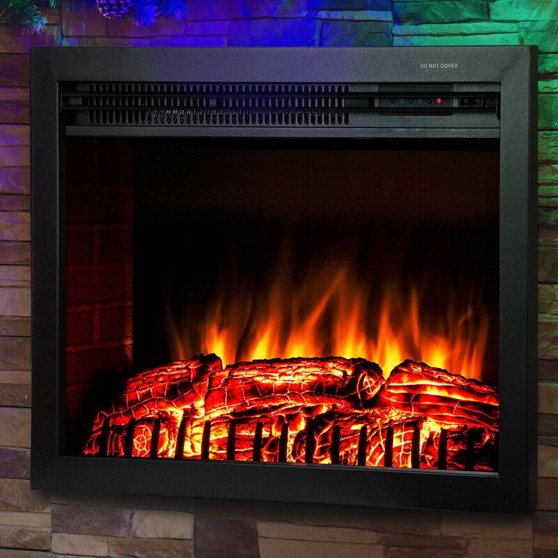 Akdy wood burning electric fireplace insert reviews wayfair wood burning electric fireplace insert teraionfo