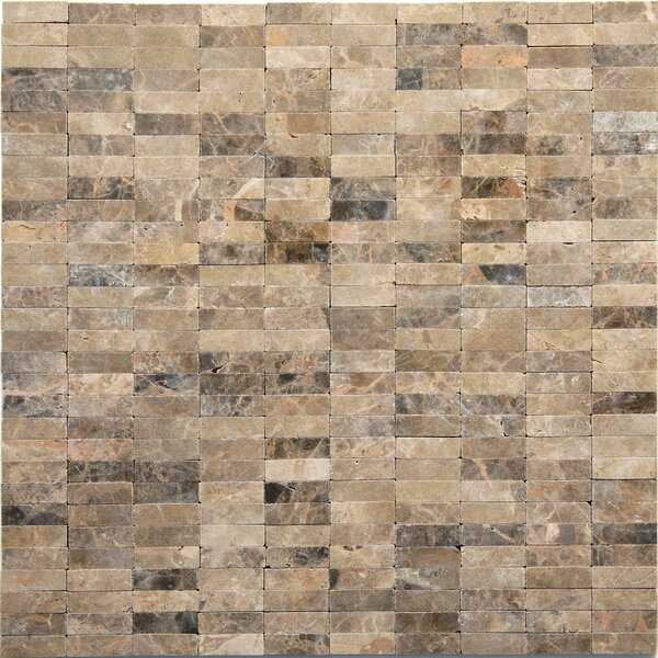 Post Modern Marble Mosaic Tile in Rodin by Solistone
