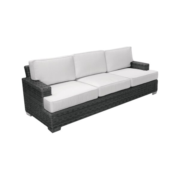 Catalina Patio Sofa with Sunbrella Cushions by Axcss Inc.