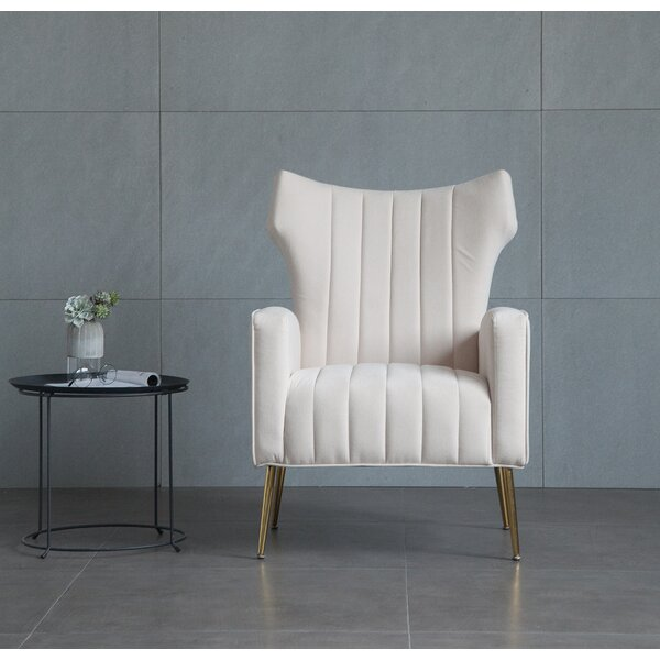 Lauretta Wingback Chair by Mercer41 Mercer41
