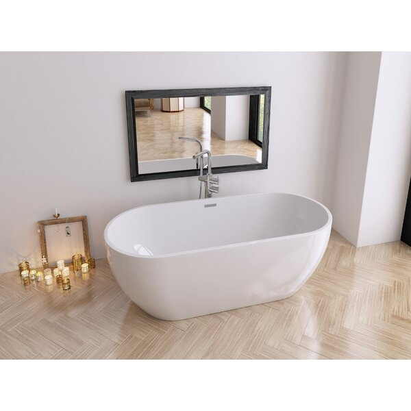 Venezia 70 x 31 Freestanding Soaking Bathtub by Perlato