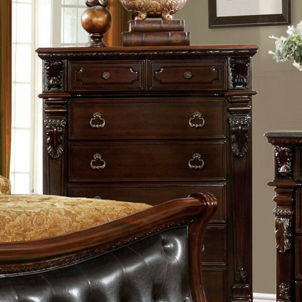 Torino Wooden 7 Drawer Chest by Astoria Grand
