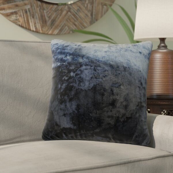 Nystrom Ombre Throw Pillow by Bloomsbury Market