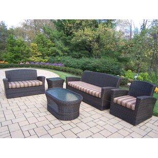 Savannah 5 Piece Sofa Set with Cushions ByOakland Living