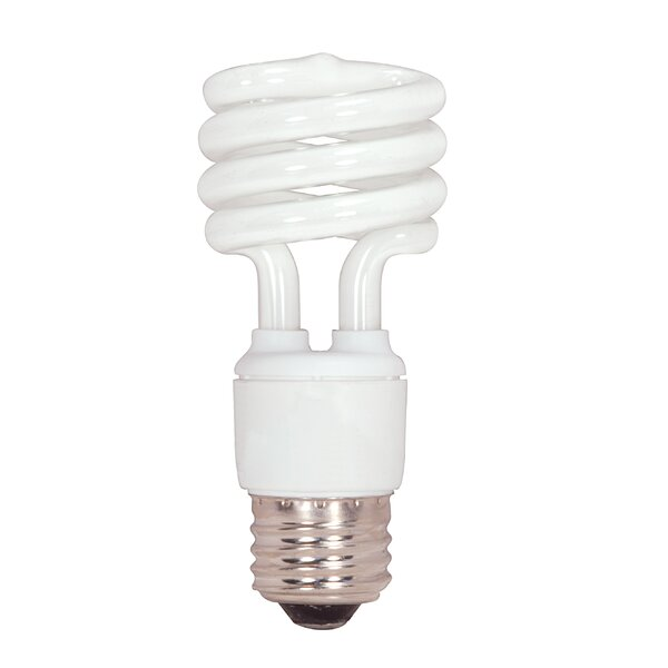 13W Compact Fluorescent Light Bulb by Satco