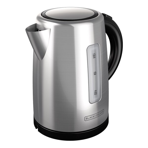 1.7-qt Stainless Steel Electric Tea Kettle by Black + Decker