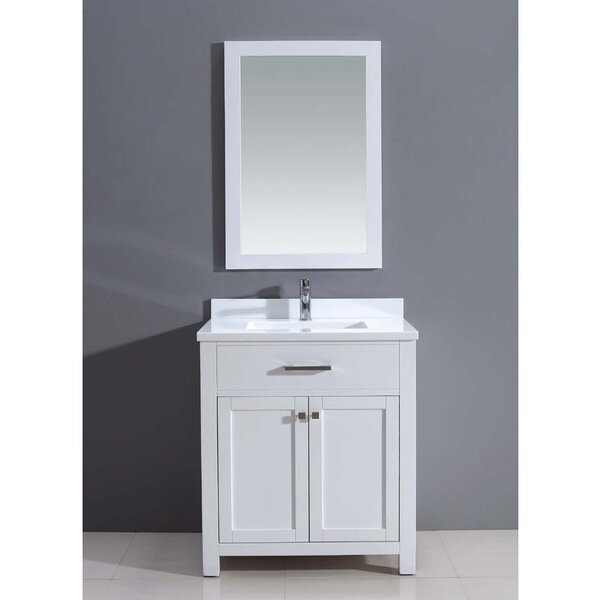 Milan 30 Single Vanity Set with Mirror by Dawn USA