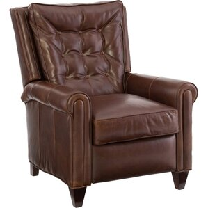 Willis Leather Power Wall Hugger Recliner by Bradington-Young