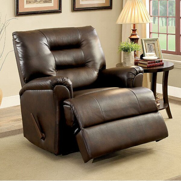 Halstead Manual Rocker Recliner by Latitude Run