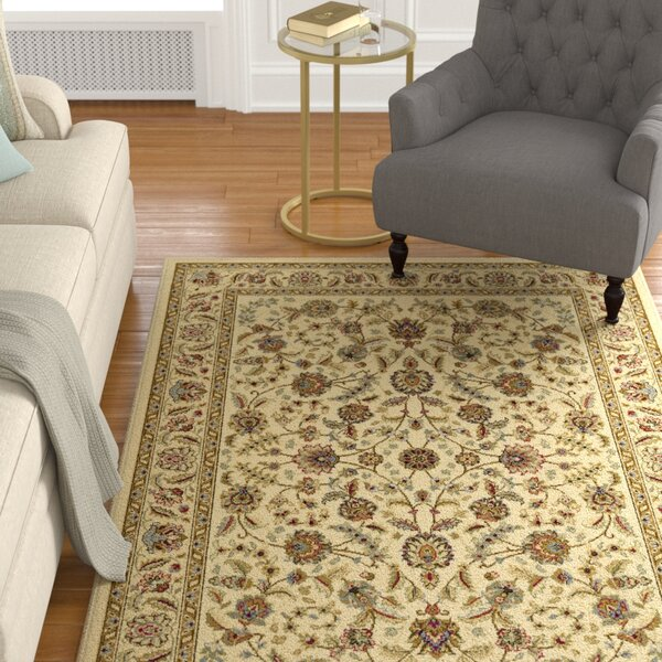 Larios Ivory Area Rug by Astoria Grand