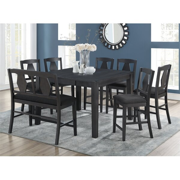 Munos 8 Piece Pub Table Set by Charlton Home