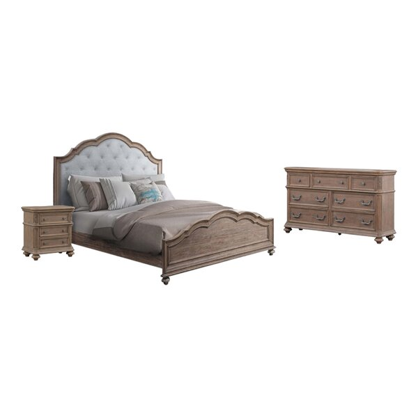 Benji Panel 5 Piece Configurable Bedroom Set by One Allium Way